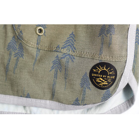 United By Blue Painted Pines Boardshorts Women Olive